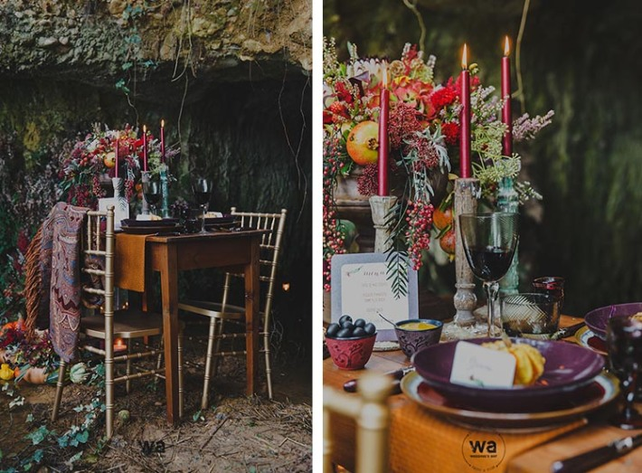 Boho in Autumn - wedding styled shoot 014