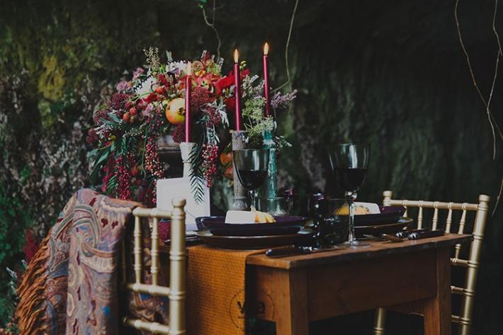 Boho in Autumn - wedding styled shoot 015
