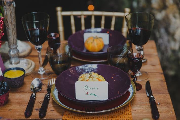 Boho in Autumn - wedding styled shoot 017