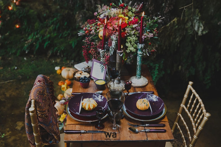 Boho in Autumn - wedding styled shoot 019