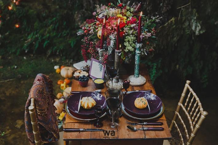 Boho in Autumn - wedding styled shoot 019