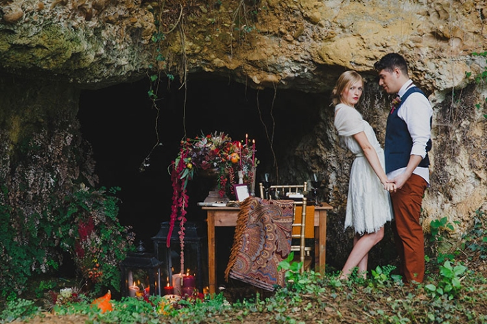 Boho in Autumn - wedding styled shoot 023