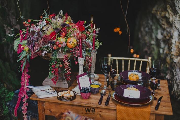 Boho in Autumn - wedding styled shoot 025