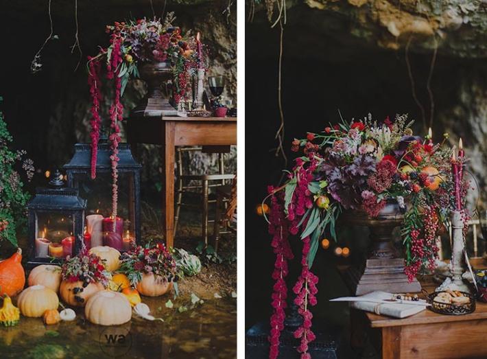 Boho in Autumn - wedding styled shoot 026