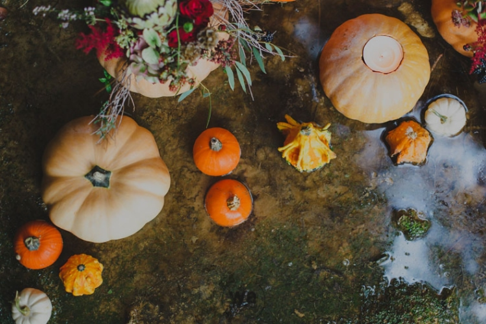 Boho in Autumn - wedding styled shoot 027