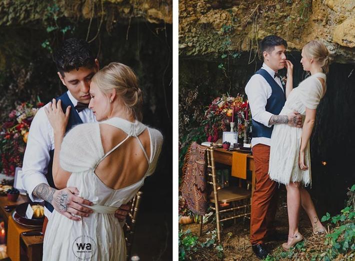 Boho in Autumn - wedding styled shoot 028