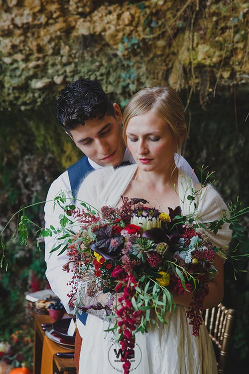 Boho in Autumn - wedding styled shoot 030