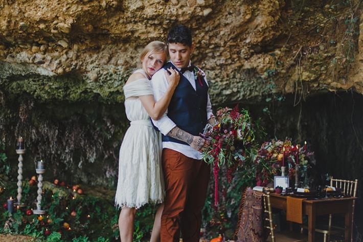 Boho in Autumn - wedding styled shoot 032