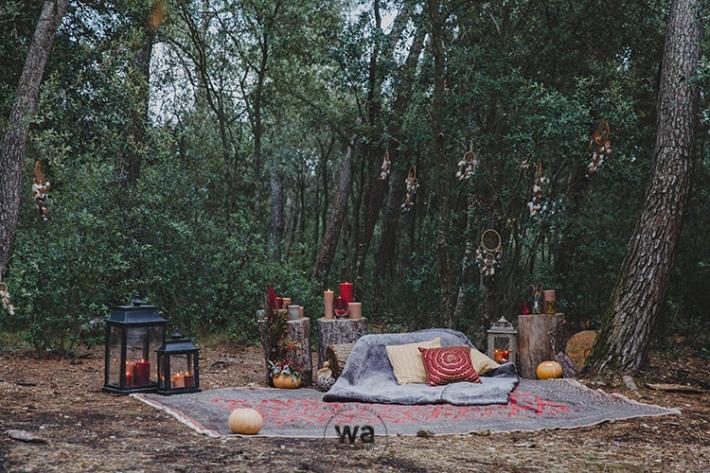Boho in Autumn - wedding styled shoot 039