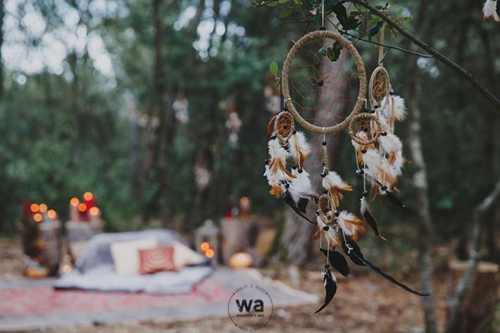 Boho in Autumn - wedding styled shoot 040