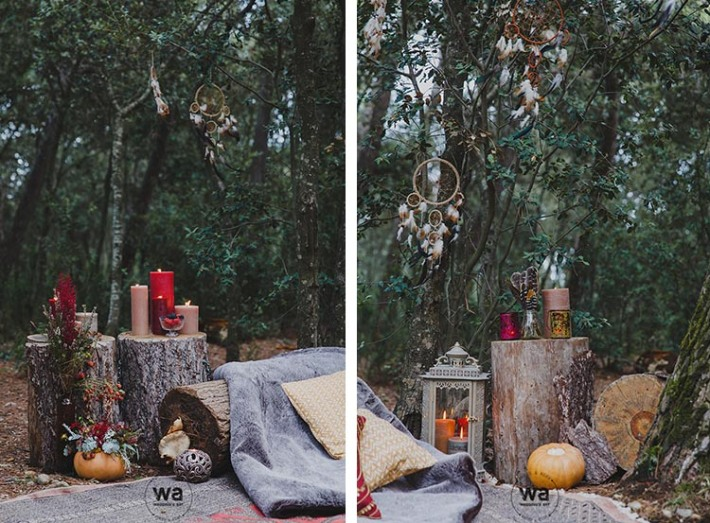 Boho in Autumn - wedding styled shoot 041