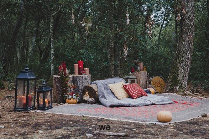 Boho in Autumn - wedding styled shoot 042