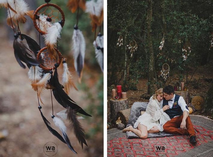 Boho in Autumn - wedding styled shoot 043