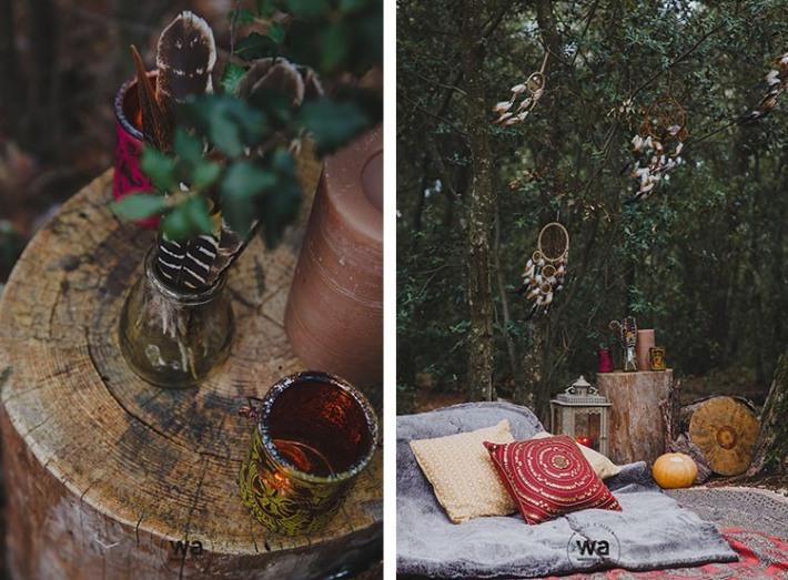 Boho in Autumn - wedding styled shoot 046