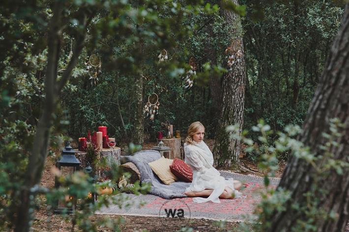 Boho in Autumn - wedding styled shoot 047