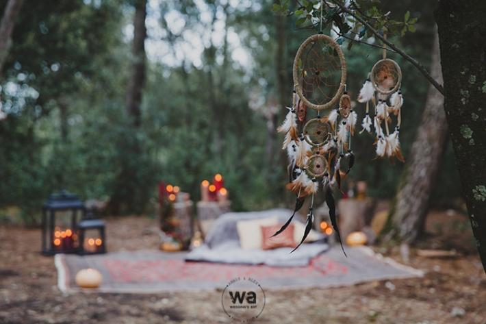 Boho in Autumn - wedding styled shoot 048