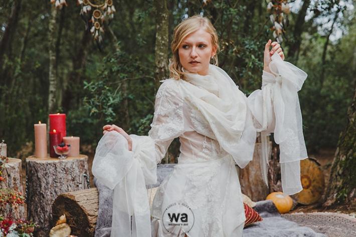 Boho in Autumn - wedding styled shoot 050