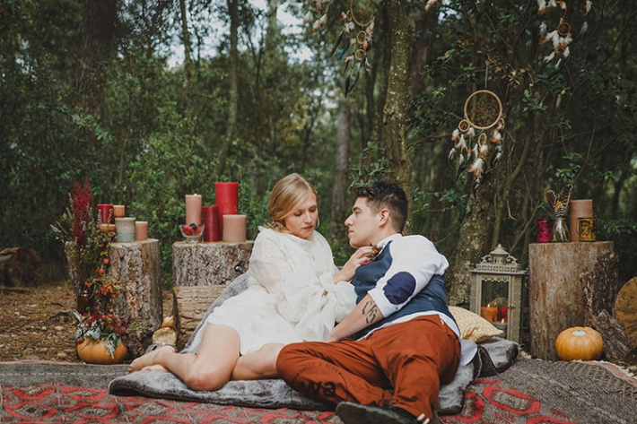 Boho in Autumn - wedding styled shoot 052