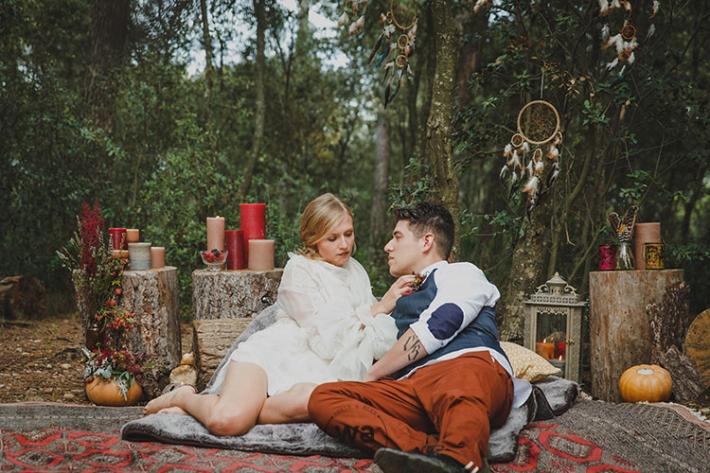 Boho in Autumn - wedding styled shoot 052
