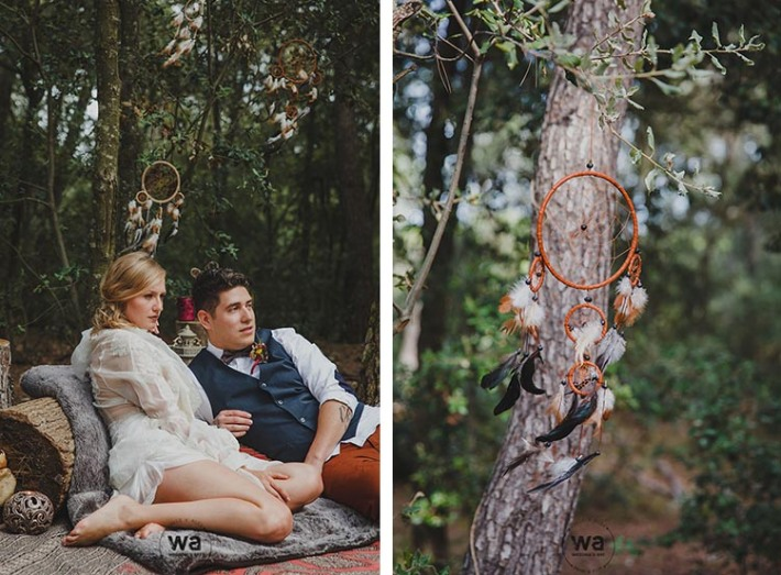 Boho in Autumn - wedding styled shoot 054