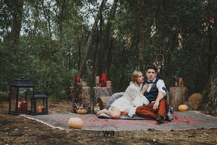 Boho in Autumn - wedding styled shoot 057