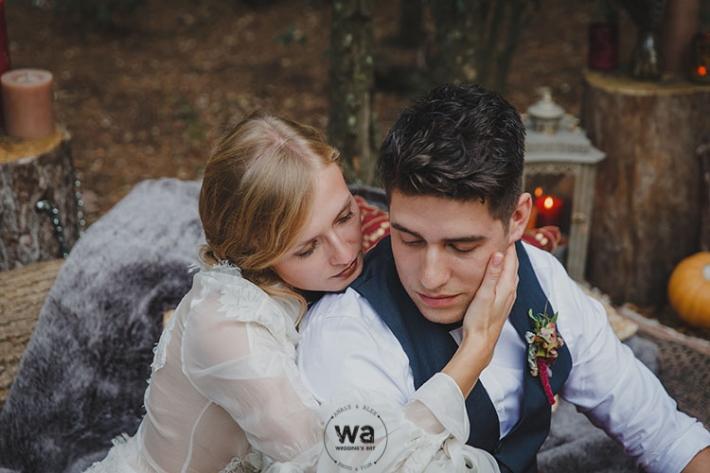 Boho in Autumn - wedding styled shoot 060