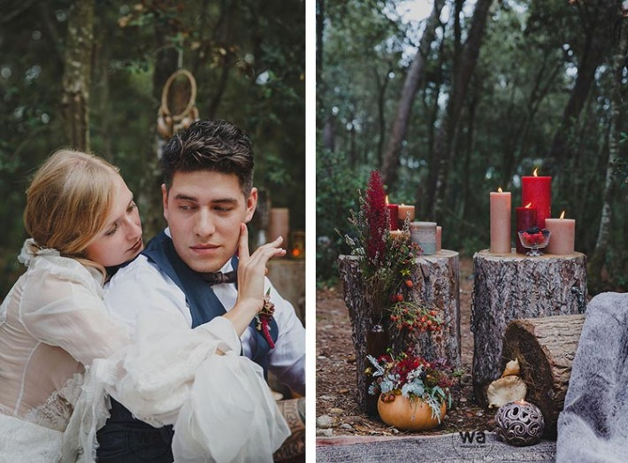 Boho in Autumn - wedding styled shoot 061