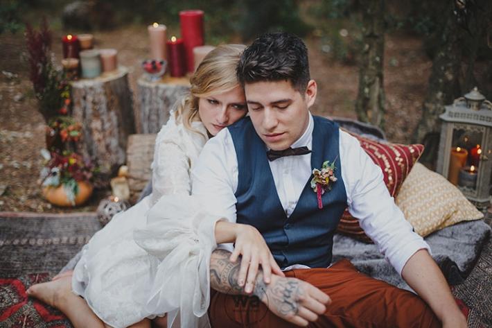 Boho in Autumn - wedding styled shoot 062