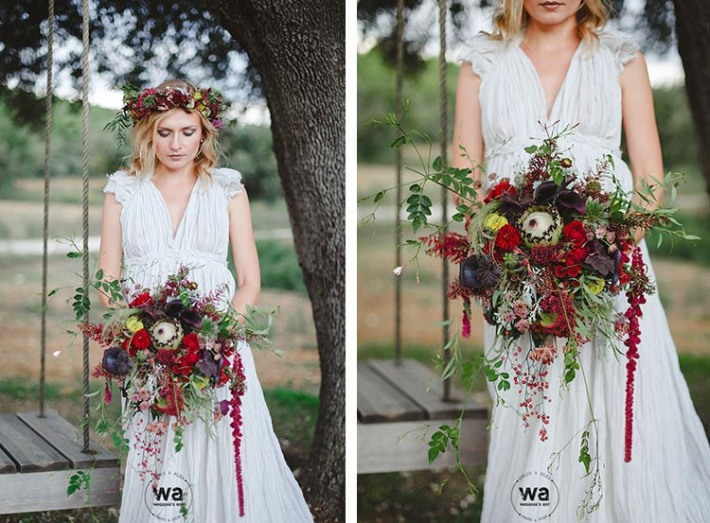 Boho in Autumn - wedding styled shoot 071