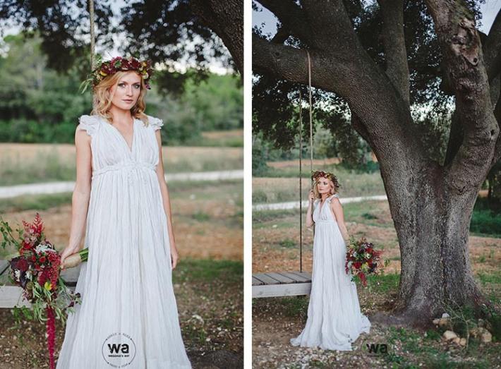 Boho in Autumn - wedding styled shoot 075