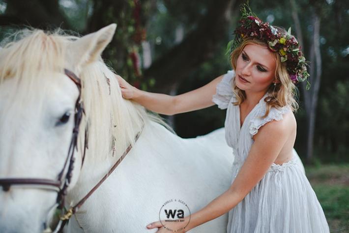 Boho in Autumn - wedding styled shoot 091