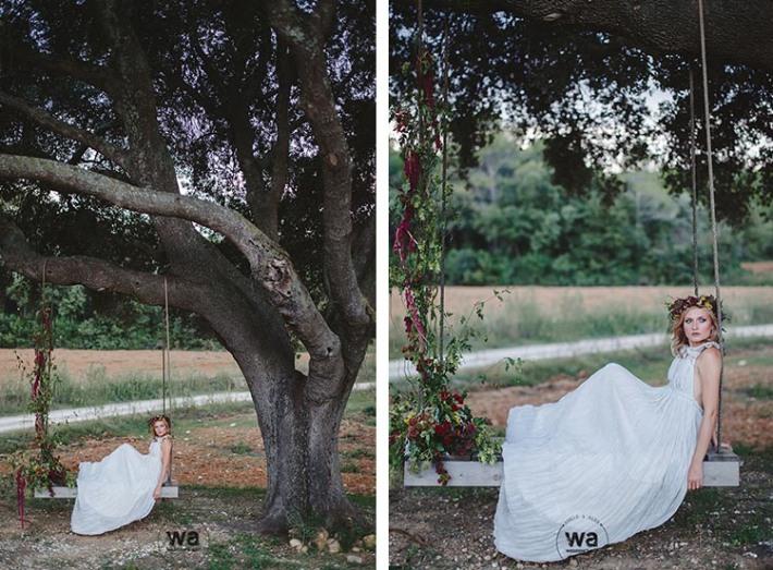Boho in Autumn - wedding styled shoot 095