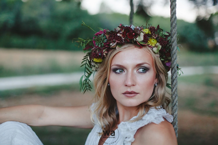 Boho in Autumn - wedding styled shoot 096