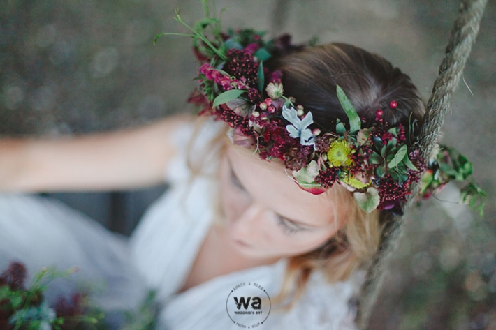 Boho in Autumn - wedding styled shoot 099