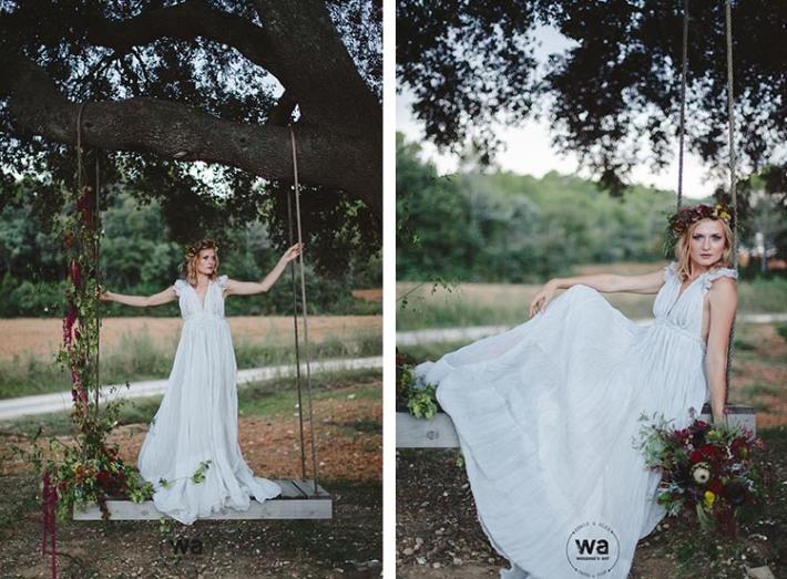 Boho in Autumn - wedding styled shoot 100