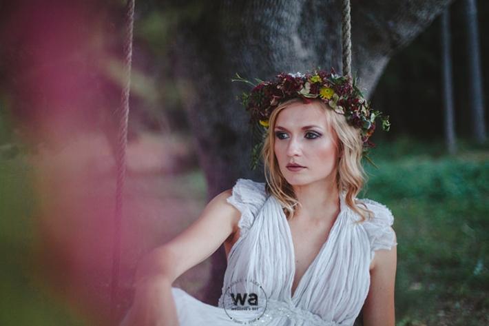 Boho in Autumn - wedding styled shoot 101