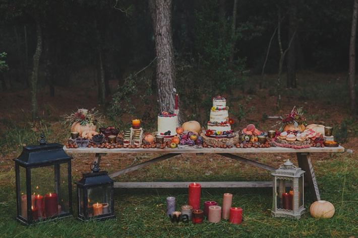 Boho in Autumn - wedding styled shoot 103
