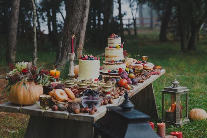Boho in Autumn - wedding styled shoot 105