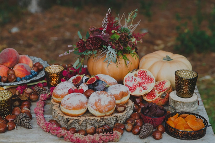 Boho in Autumn - wedding styled shoot 109