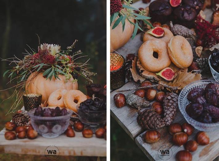 Boho in Autumn - wedding styled shoot 111