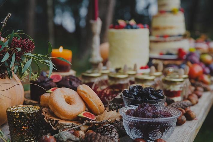 Boho in Autumn - wedding styled shoot 112