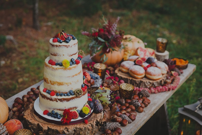 Boho in Autumn - wedding styled shoot 113