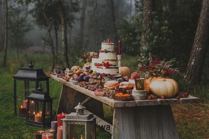 Boho in Autumn - wedding styled shoot 117